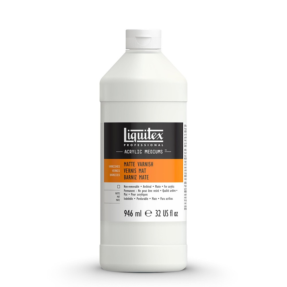 Liquitex : Professional : Matte Varnish : 946ml : 5232