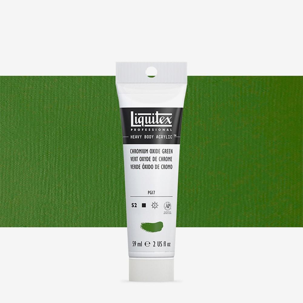 Liquitex : Professional : Heavy Body Acrylic Paint : 59ml : Chromium Oxide Green