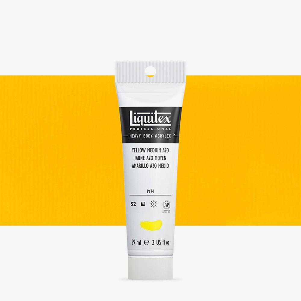 Liquitex : Professional : Heavy Body Acrylic Paint : 59ml : Yellow Medium Azo