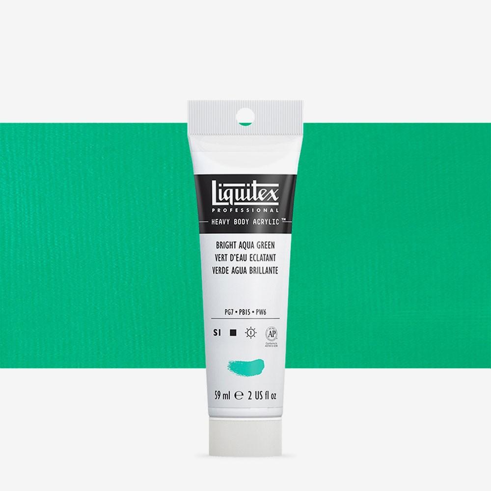 Liquitex : Professional : Heavy Body Acrylic Paint : 59ml : Bright Aqua Green
