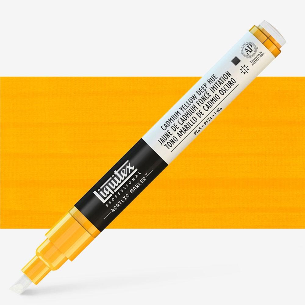 Liquitex : Professional : Marker : 2mm Fine Nib : Cad Yellow Deep Hue