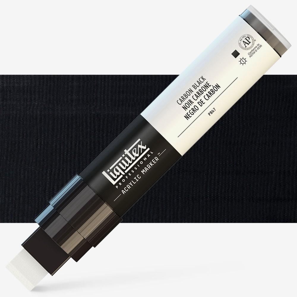Liquitex Marker : 15mm WIDE Carbon Black