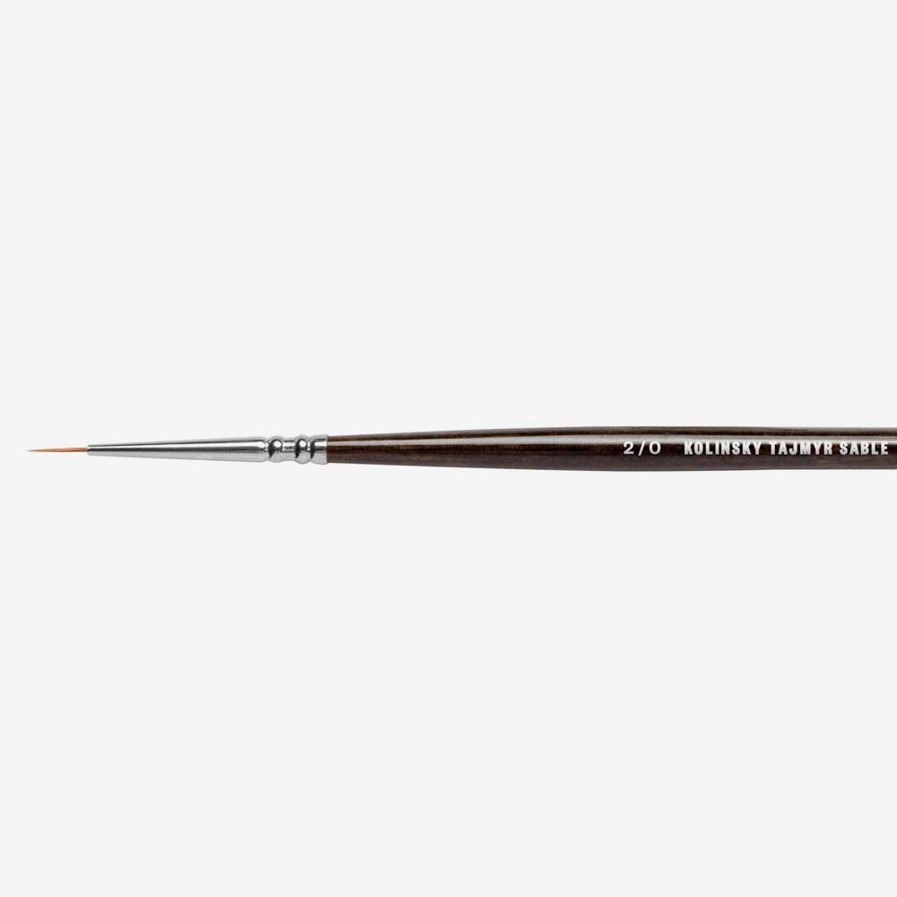 Jackson's : Kolinsky-Tajmyr : Sable : Series 1205 : # 2/0