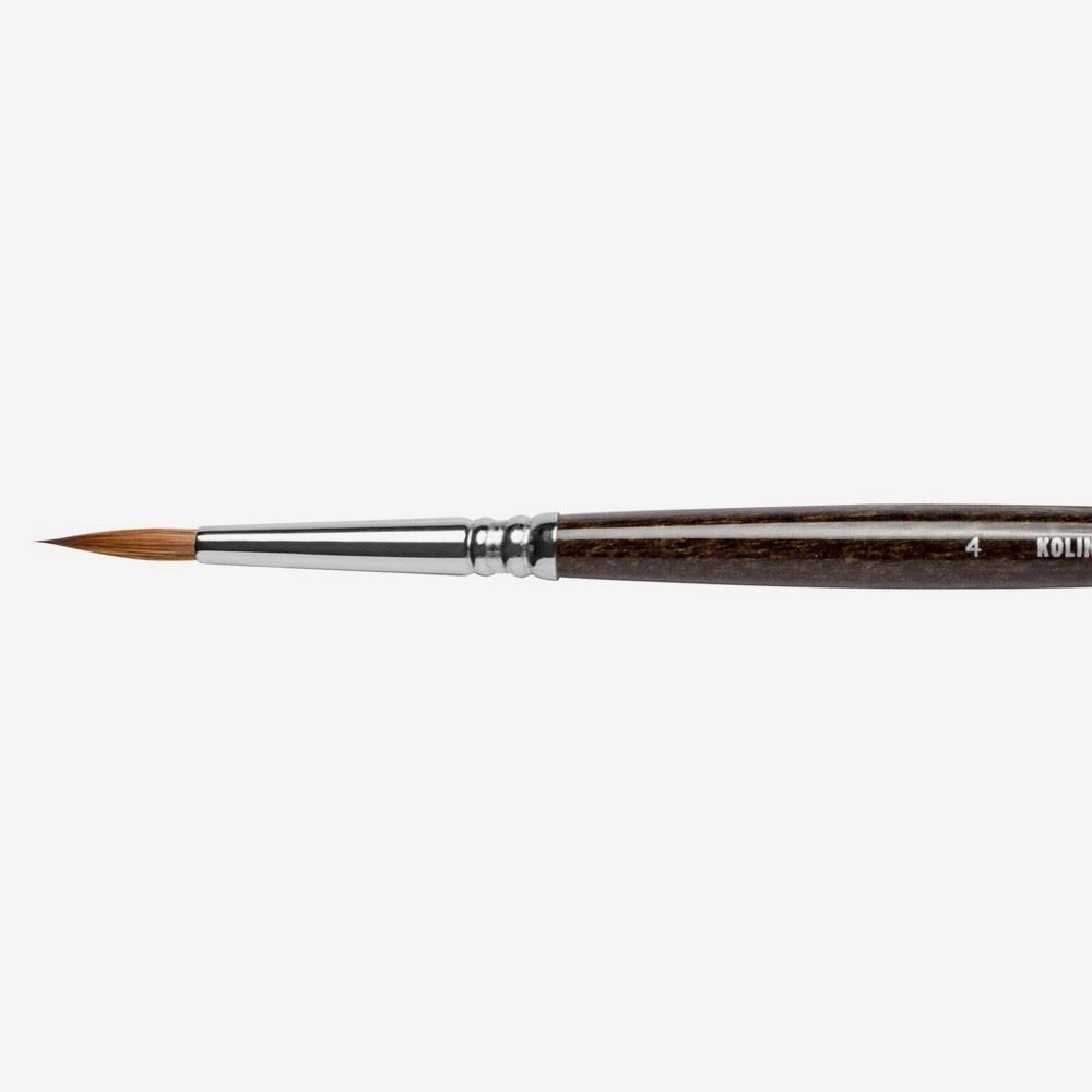Jackson's : Kolinsky-Tajmyr : Sable : Series 1205 : # 4