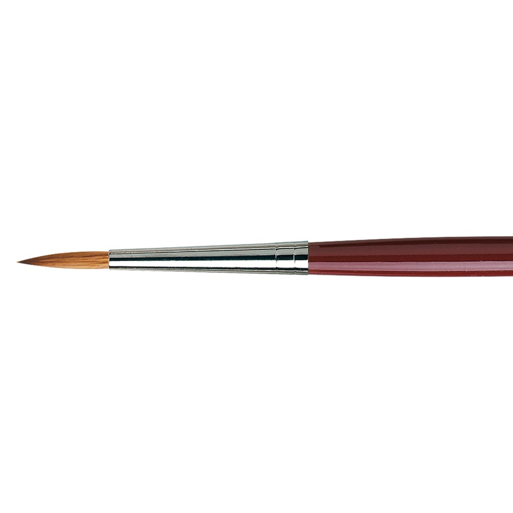 Da Vinci : Kolinsky Red Sable : Oil Brush : Series 1610 : Round : Size 10