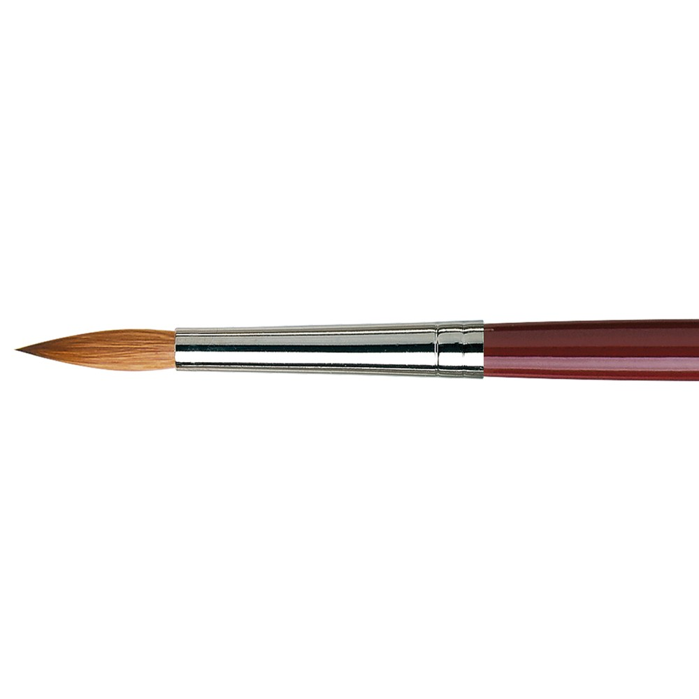 Da Vinci : Kolinsky Red Sable : Oil Brush : Series 1610 : Round : Size 14