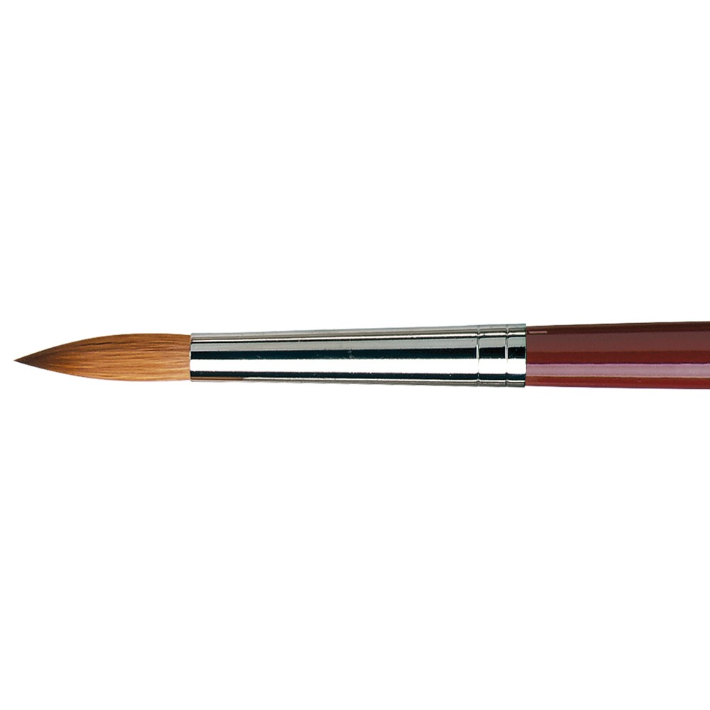 Da Vinci : Kolinsky Red Sable : Oil Brush : Series 1610 : Round : Size 16