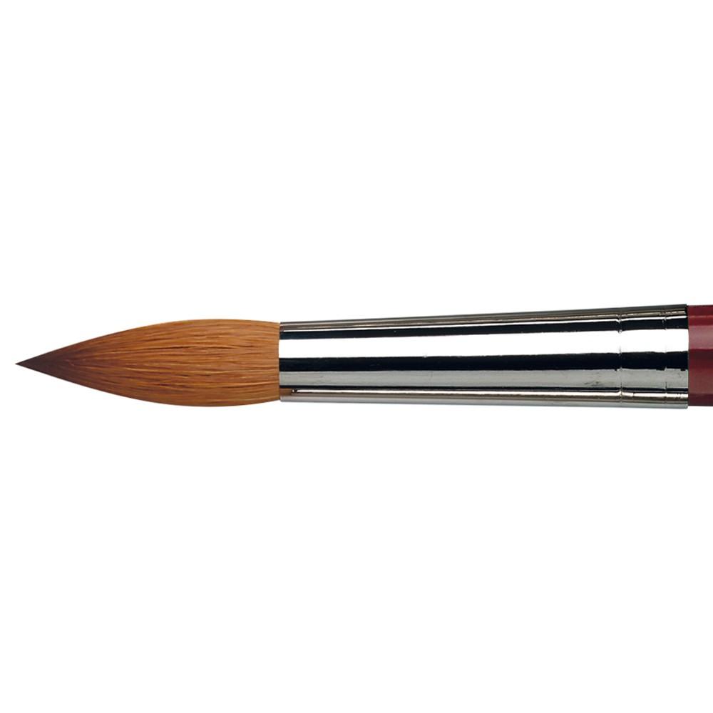 Da Vinci : Kolinsky Red Sable : Oil Brush : Series 1610 : Round : Size 28