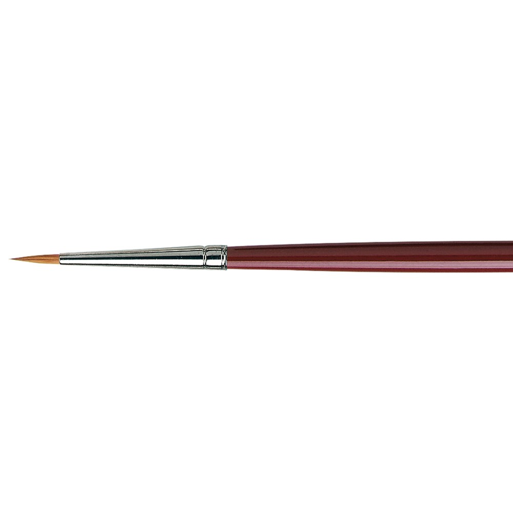 Da Vinci : Kolinsky Red Sable : Oil Brush : Series 1610 : Round : Size 4