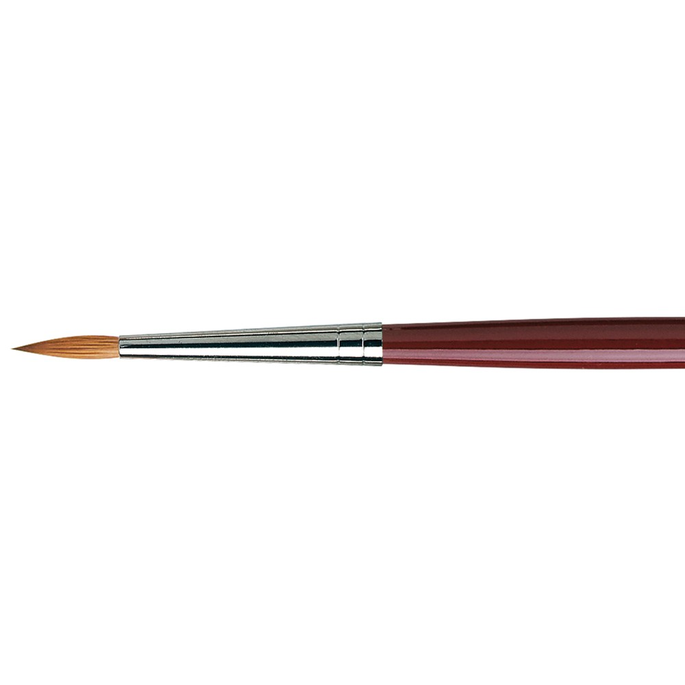 Da Vinci : Kolinsky Red Sable : Oil Brush : Series 1610 : Round : Size 8