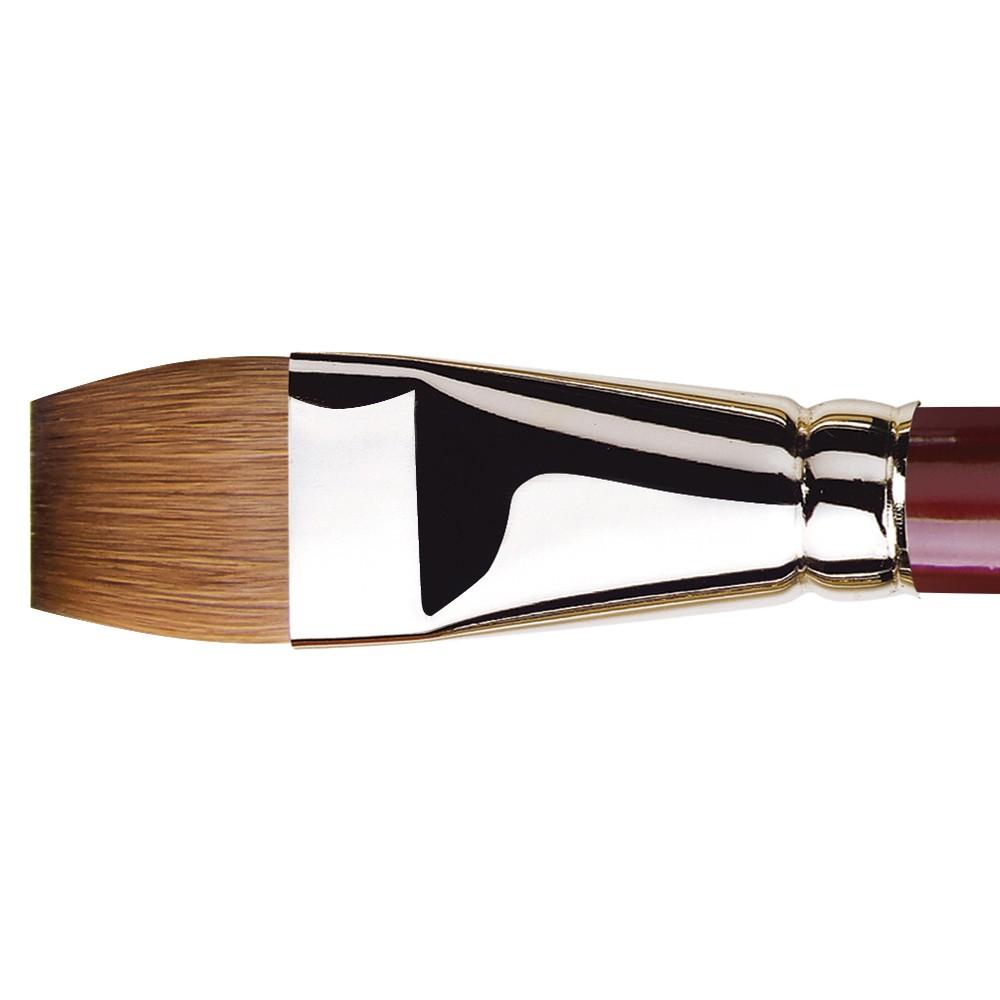 Da Vinci : Kolinsky Red Sable : Oil Brush : Series 1810 : Bright : Size 22