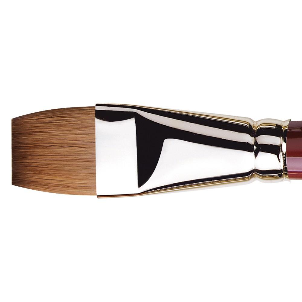 Da Vinci : Kolinsky Red Sable : Oil Brush : Series 1810 : Bright : Size 24