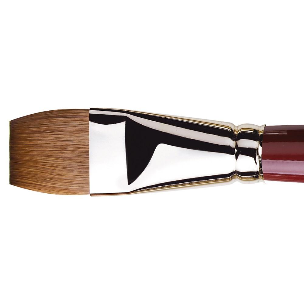 Da Vinci : Kolinsky Red Sable : Oil Brush : Series 1810 : Bright : Size 26