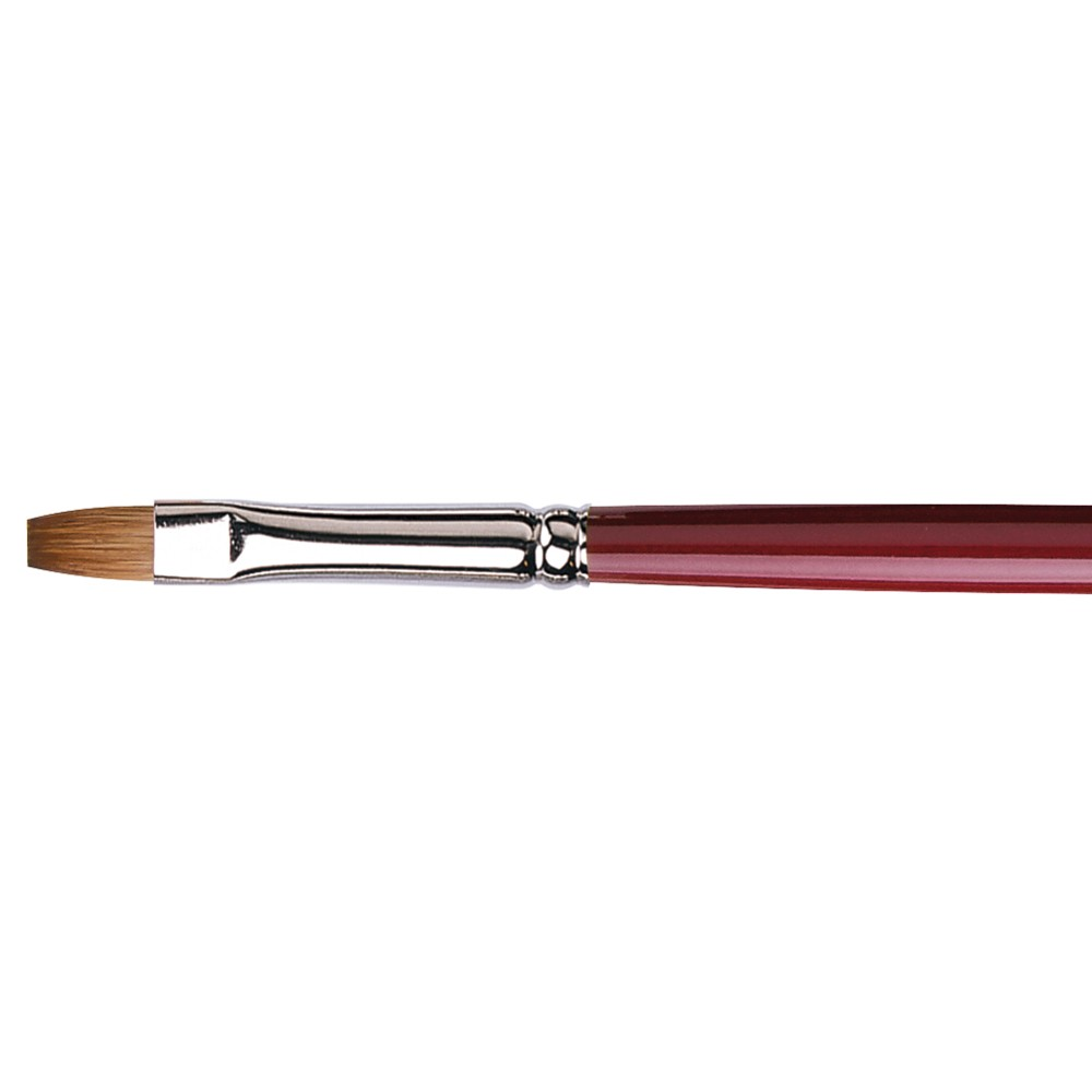 Da Vinci : Kolinsky Red Sable : Oil Brush : Series 1810 : Bright : Size 6