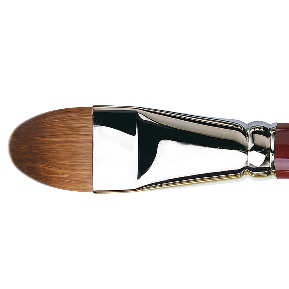 Da Vinci : Kolinsky Red Sable : Oil Brush : Series 1815 : Filbert : Size 24