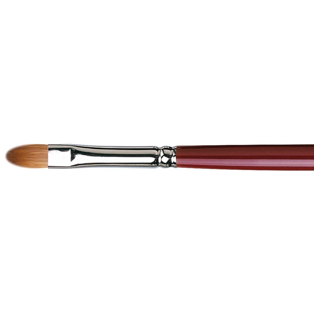 Da Vinci : Kolinsky Red Sable : Oil Brush : Series 1815 : Filbert : Size 6
