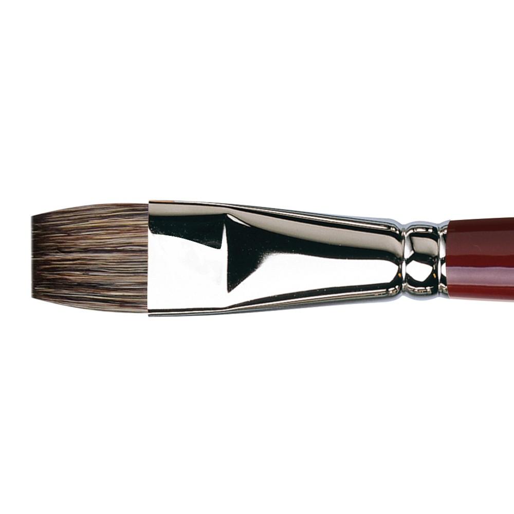 Da Vinci : Black Sable : Oil Brush : Series 1840 : Bright : Size 18