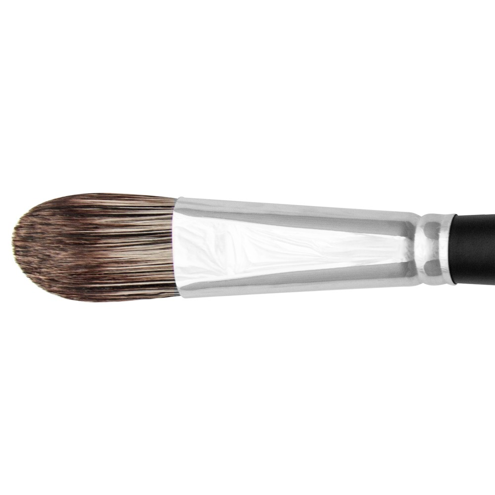 Jackson's : Black Hog Bristle Brush : Filbert : No.12
