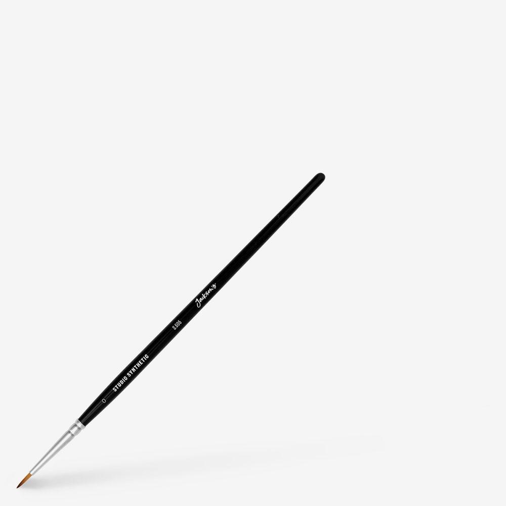 Jackson's : Studio Synthetic Watercolour Brush : Round : Size 0