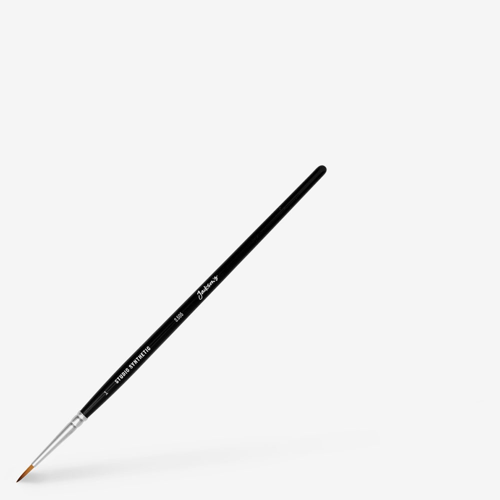 Jackson's : Studio Synthetic Watercolour Brush : Round : Size 1