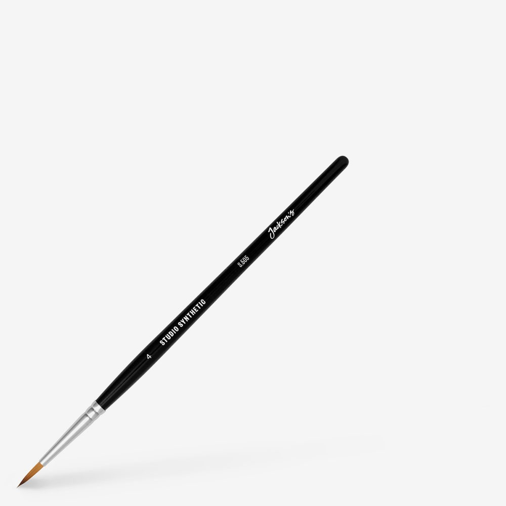 Jackson's : Studio Synthetic Watercolour Brush : Round : Size 4