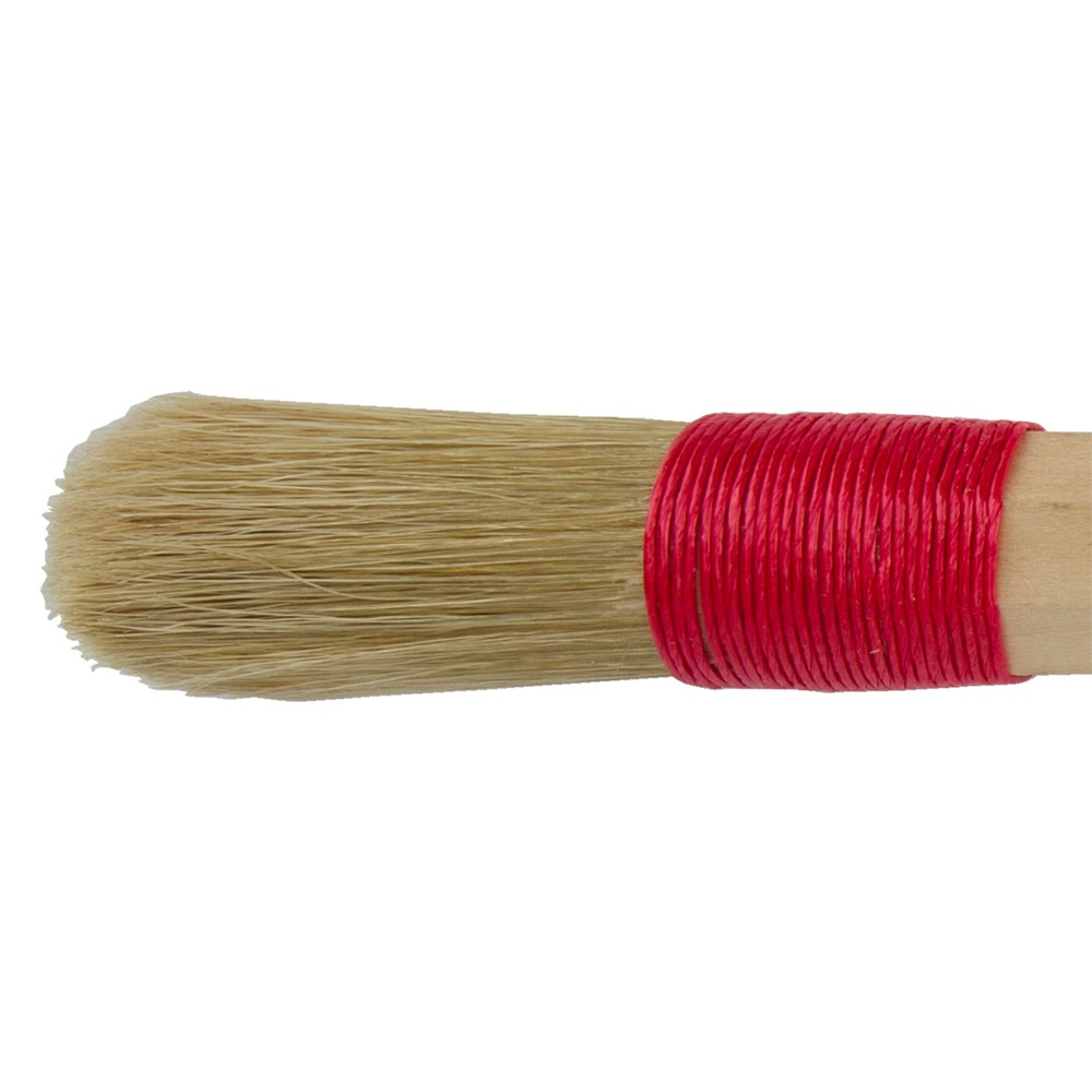 Cord Bound Artists Brush With Domed White Bristles : # 20