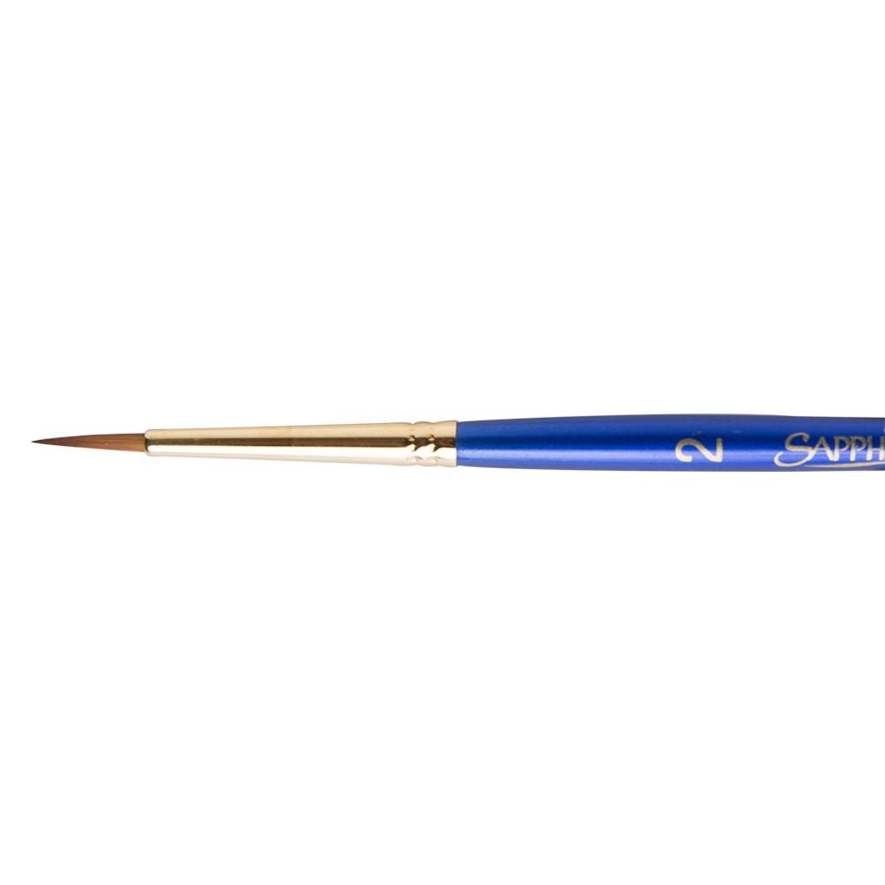 Daler Rowney : Sapphire Brush : Series 85 : Round : Size 2