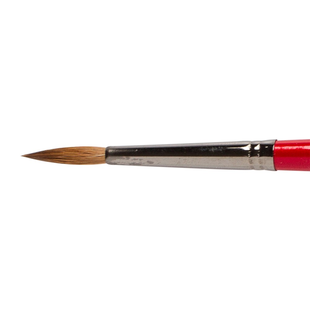 Daler Rowney : Georgian Oil Brush : G61 Sable Round : 10