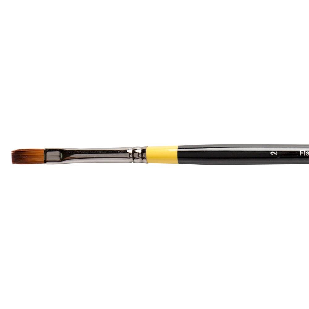 Daler Rowney : System 3 : Acrylic Brush : Sy44 Lh Flat : 2
