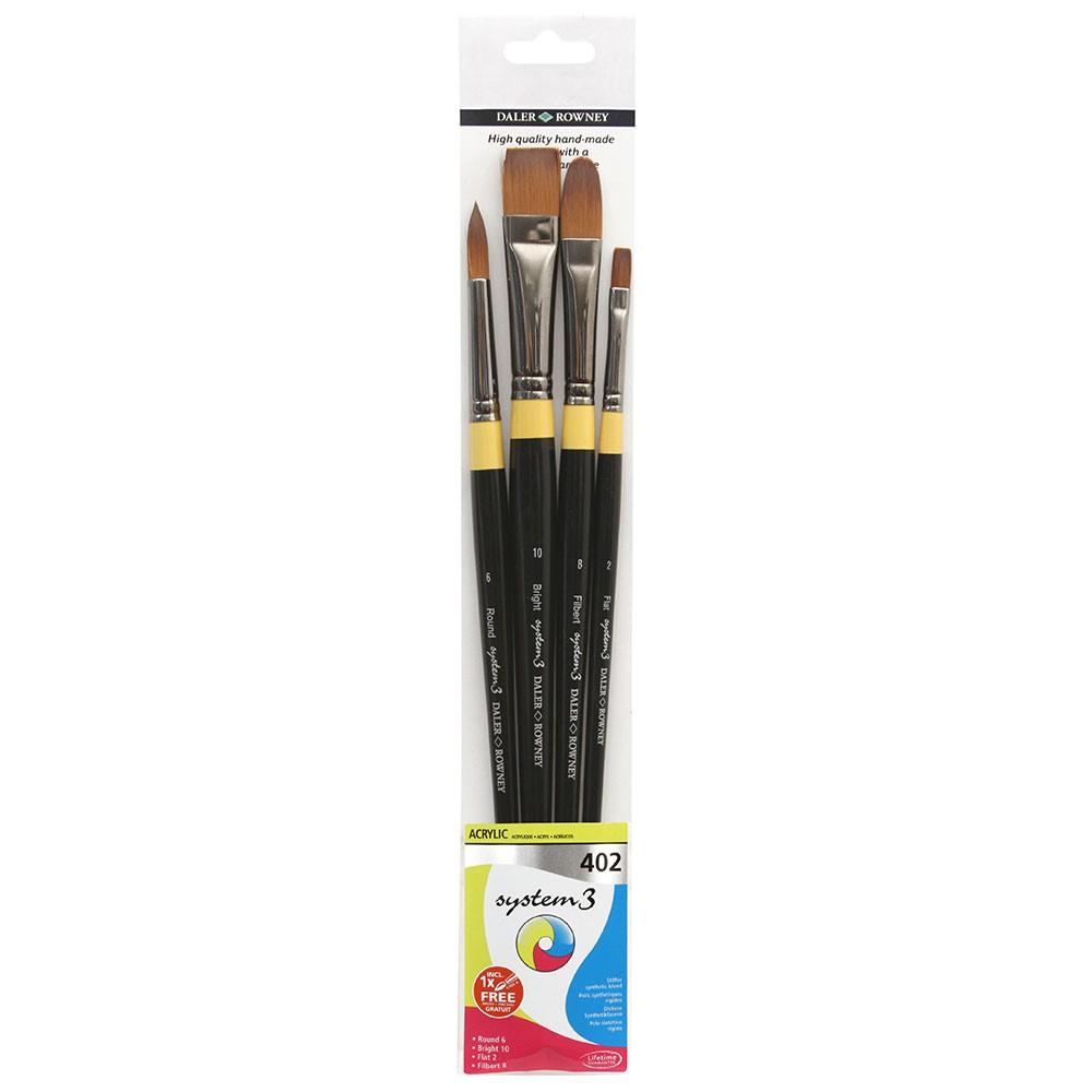 Daler Rowney : System 3 : Acrylic Paint Wallet Set : 402
