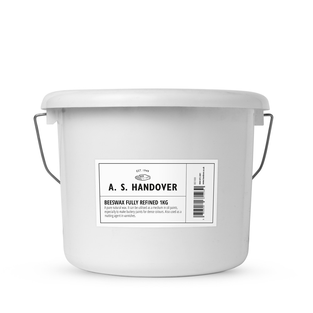 Handover : Beeswax Fully Refined Granules : Light Yellow : 1 kg