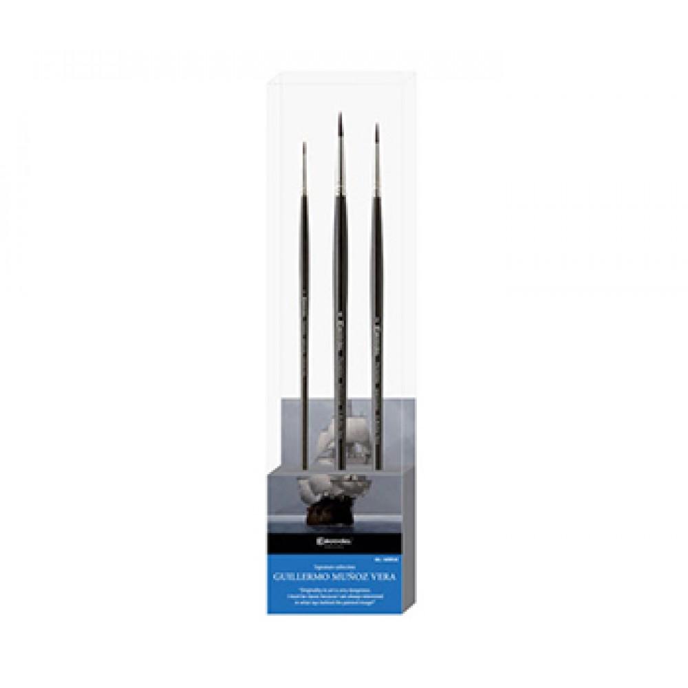 Escoda : Signature Brush Set : Guillermo Muñoz Vera 1 : Series 4175