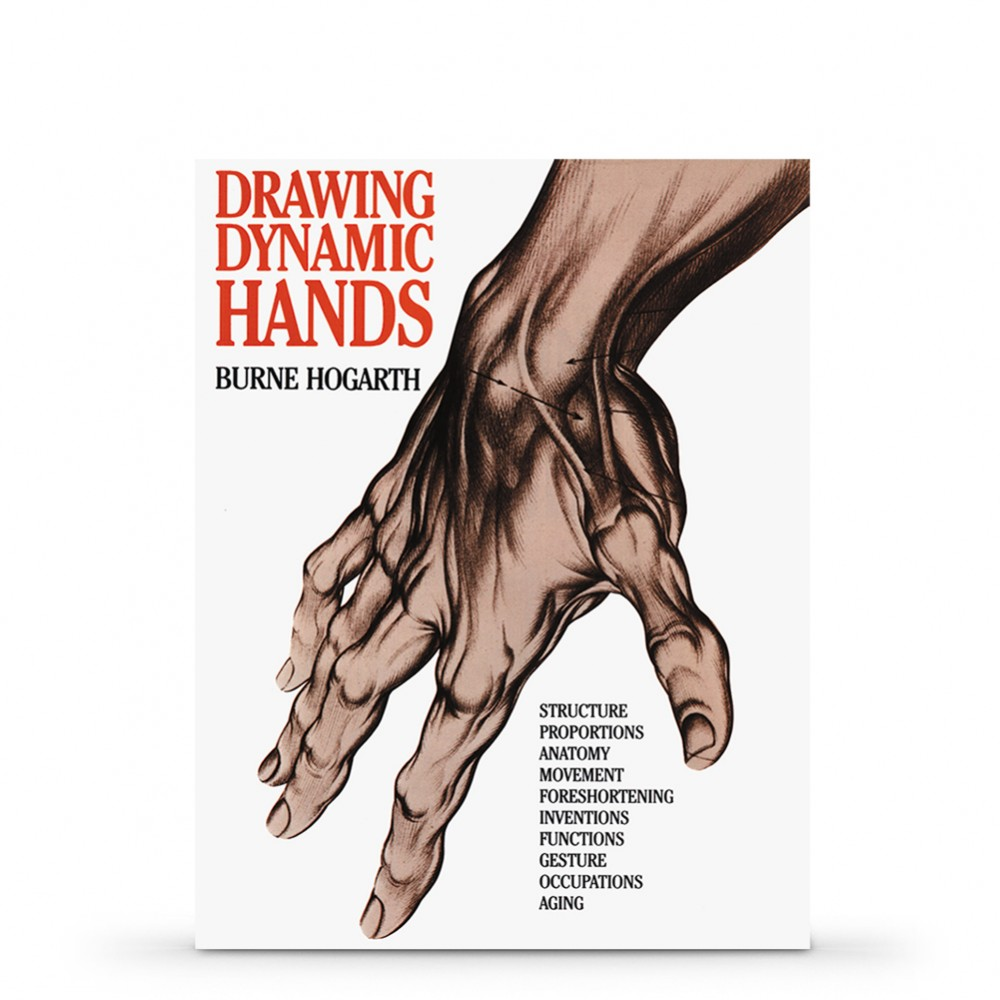 Drawing Dynamic Hands Book by Burne Hogarth