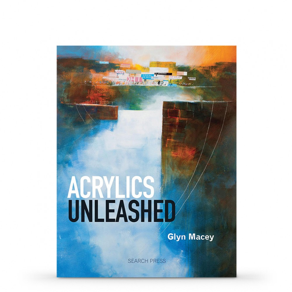 Acrylics Unleashed Book by Glyn Macey