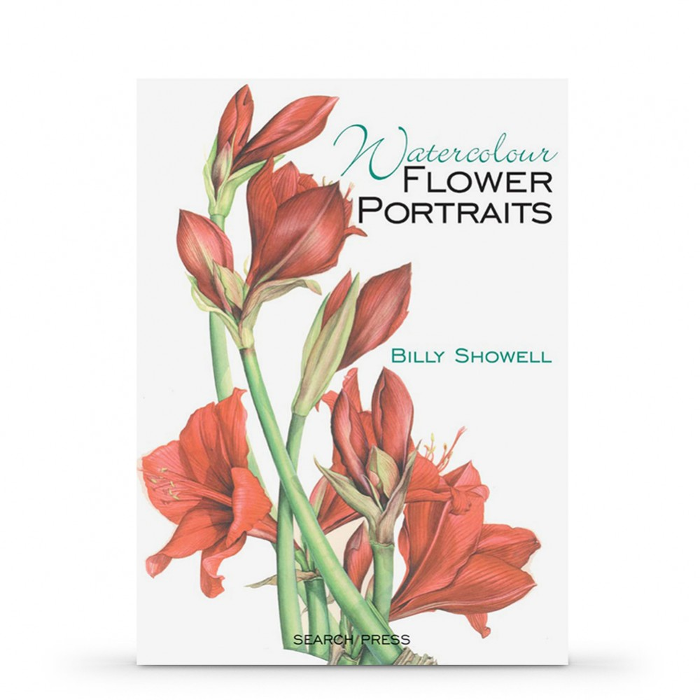 Watercolour Flower Portraits PAPERBACK Book by Billy Showell