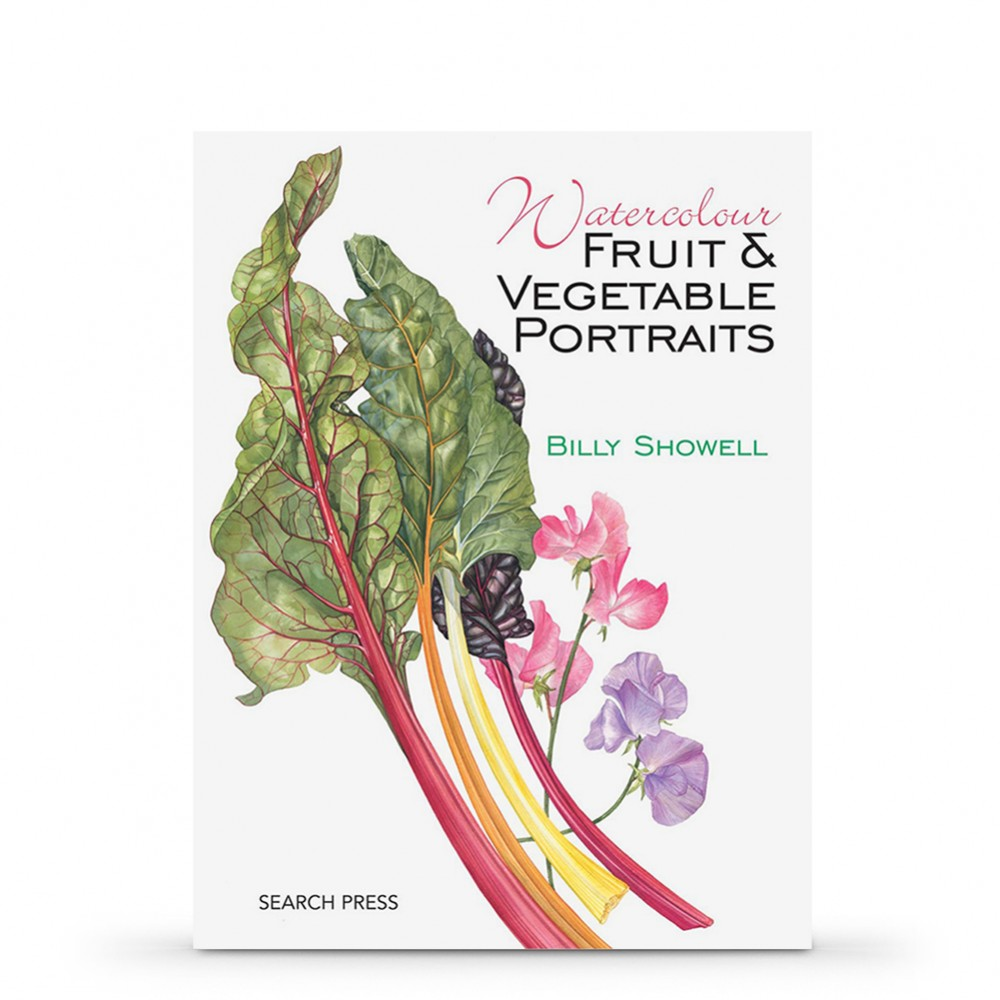 Watercolour Fruit & Vegetable Portraits PAPERBACK Book by Billy Showell