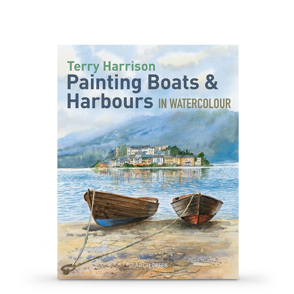 Painting Boats & Harbours in Watercolour Book by Terry Harrison
