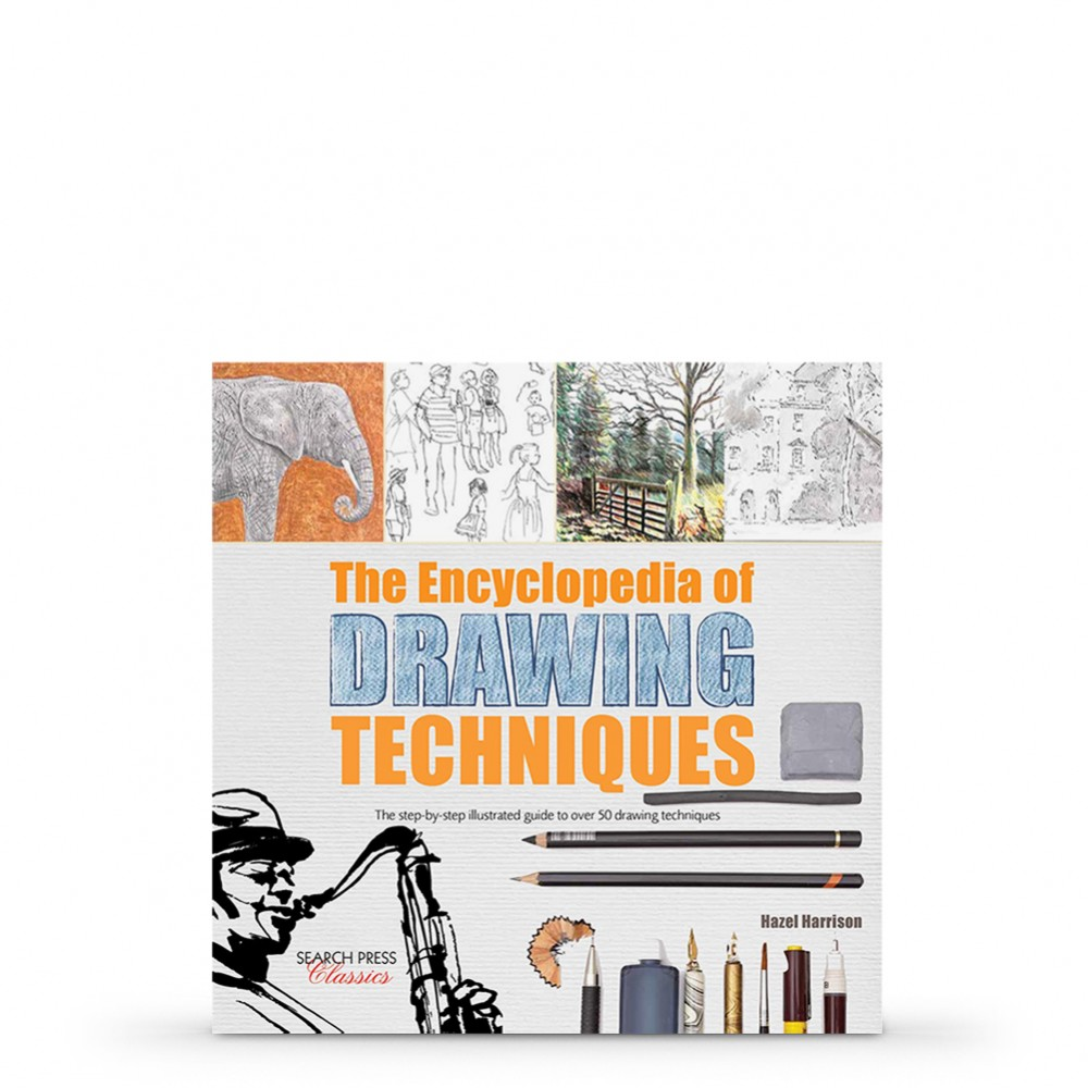 Encyclopedia of Drawing Technique: The step-by-step illustrated guide to over 50 techniques Book by Hazel Harrison