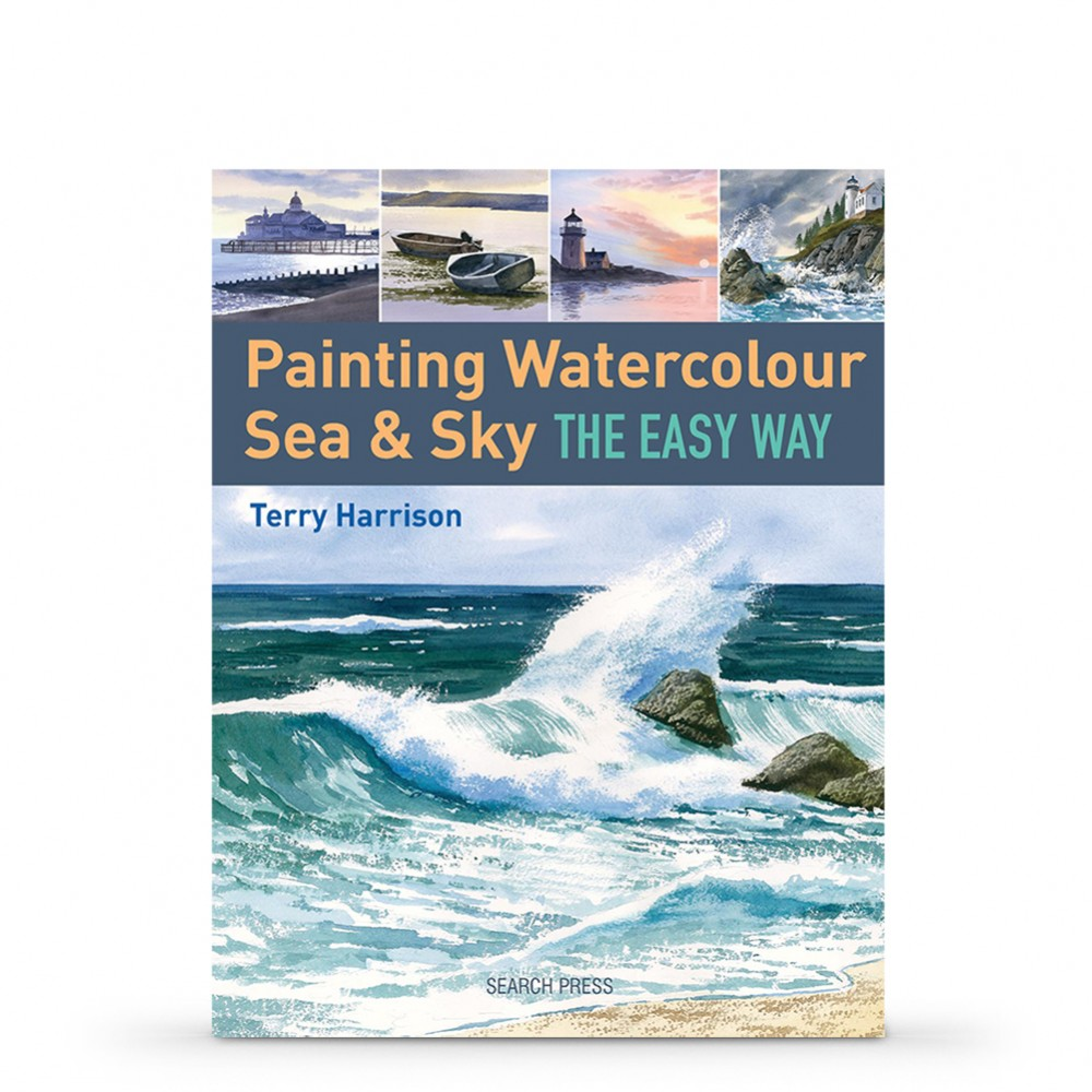 Painting Watercolour Sea & Sky the Easy Way Book by Terry Harrison