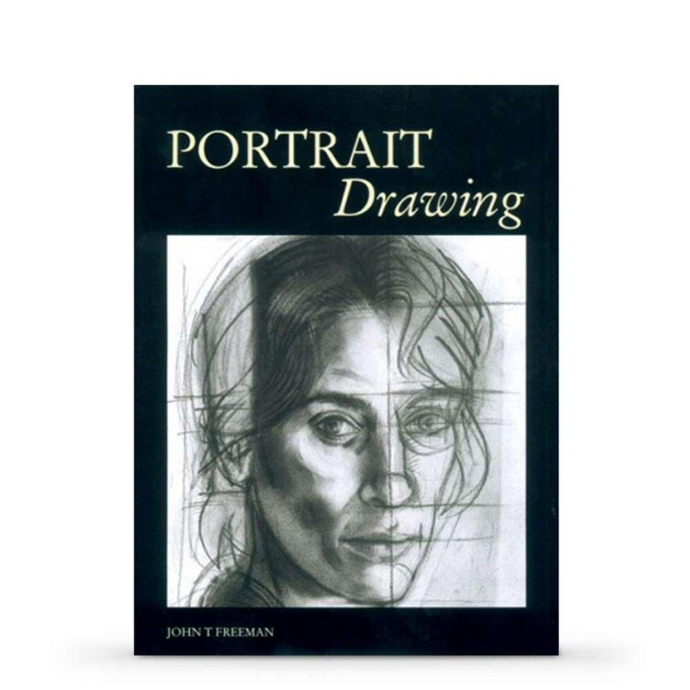 Portrait Drawing : Book by John Freeman