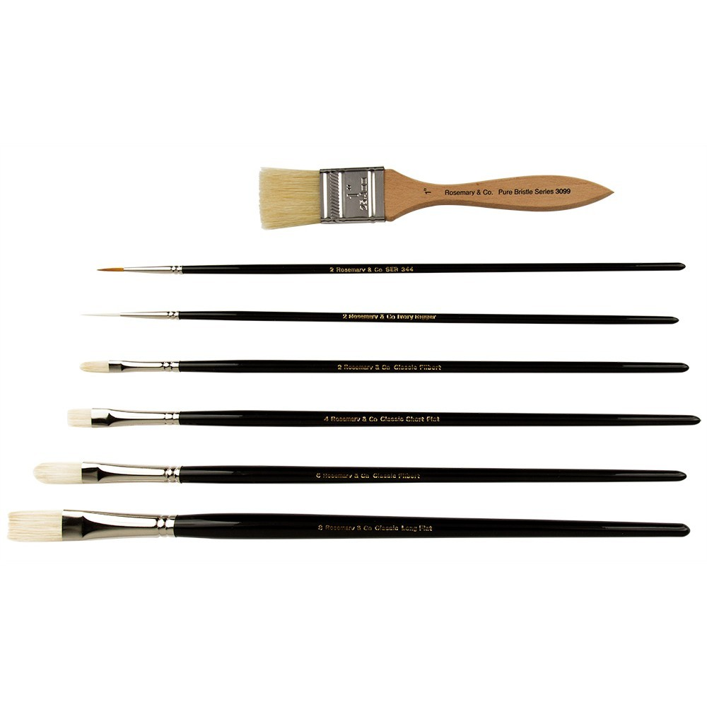 Michael Richardson Plein Air STARTER Brush Set