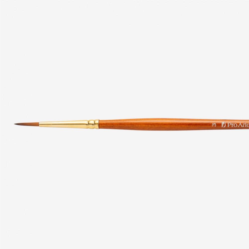 Pro Arte : Prolene Plus : Series 007 : Round : Size 3