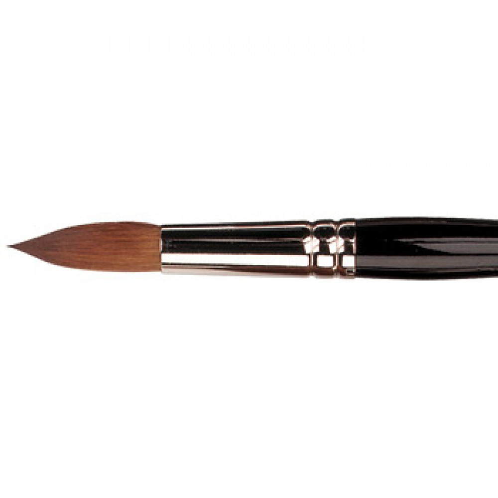 Pro Arte : Connoisseur Round Red Sable / Prolene Brush : Series 100 : Size 5