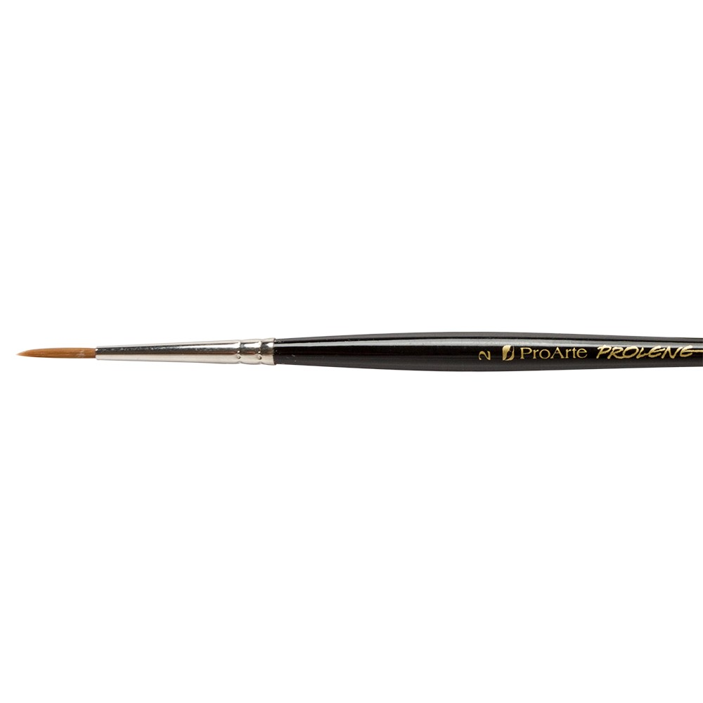 Pro Arte : Prolene : Synthetic Brush : Series 101 : Round : Size 2