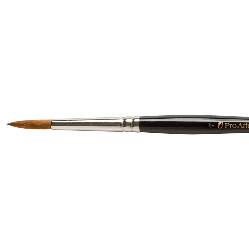 Pro Arte : Prolene : Synthetic Brush : Series 101 : Round : Size 7