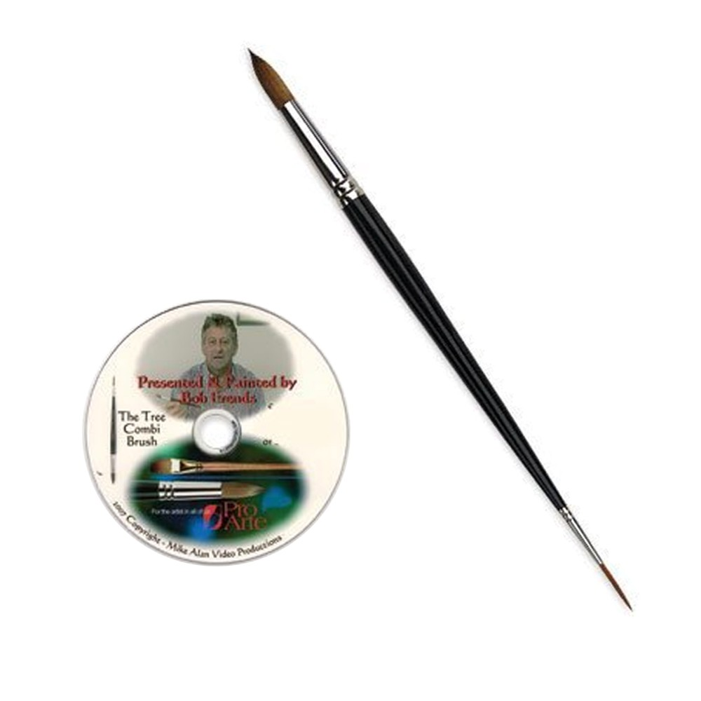 Pro Arte : Brush - tree combi brush (comes with CD)