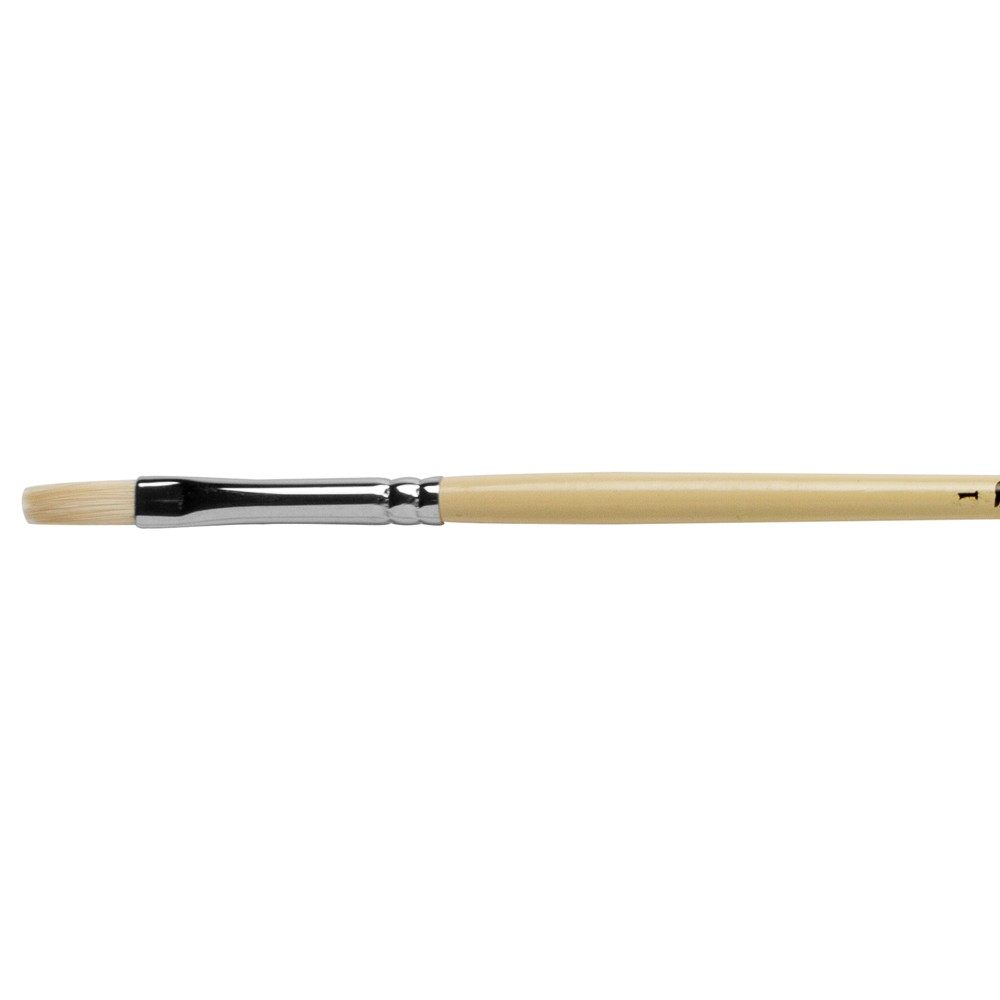 Pro Arte : Series B Hog : Bristle Brush : Long Flat : Size 1