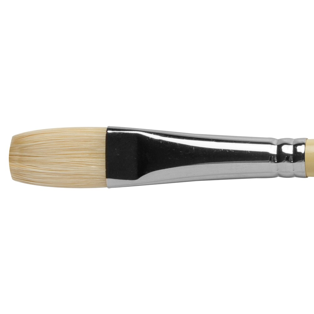 Pro Arte : Series B Hog : Bristle Brush : Long Flat : Size 10