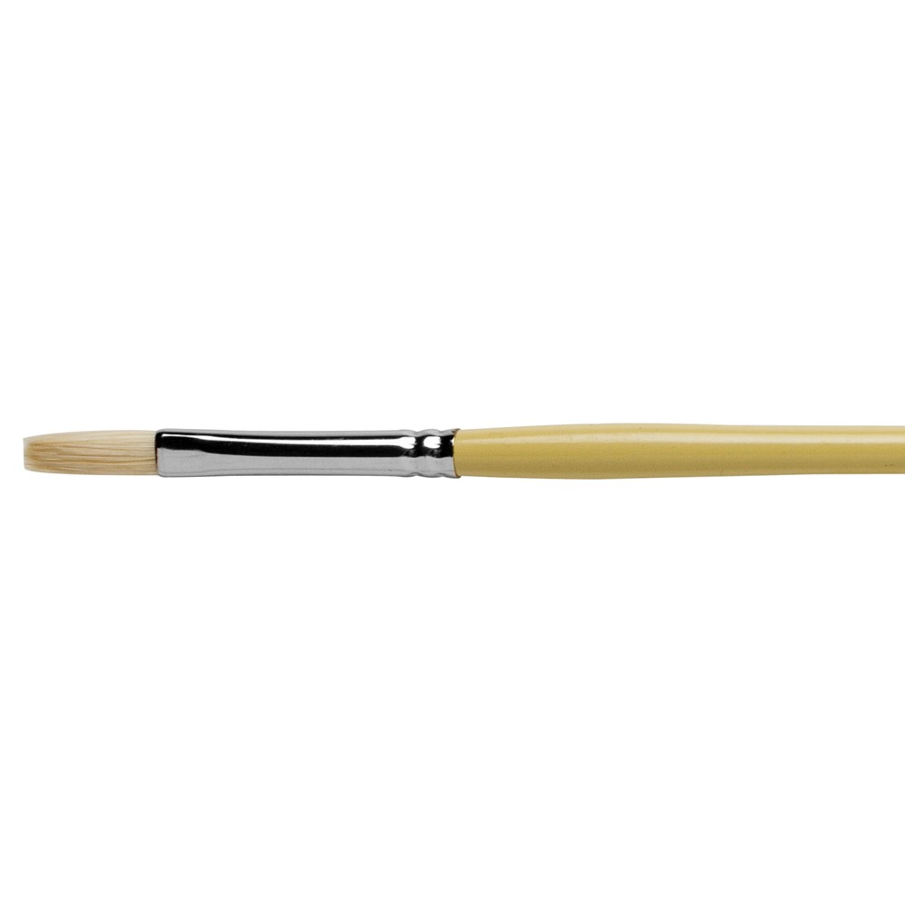Pro Arte : Series B Hog : Bristle Brush : Long Flat : Size 2