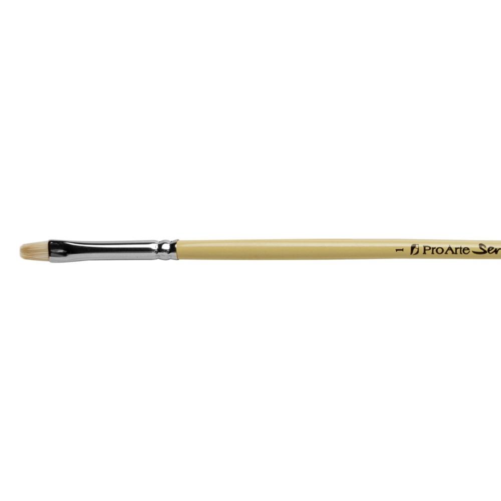 Pro Arte : Series B Hog : Bristle Brush : Short Flat : Size 1